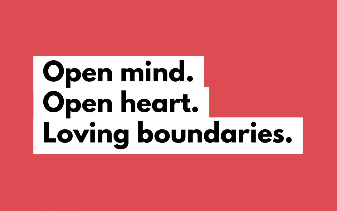 Being Open-Hearted About Boundaries and Change